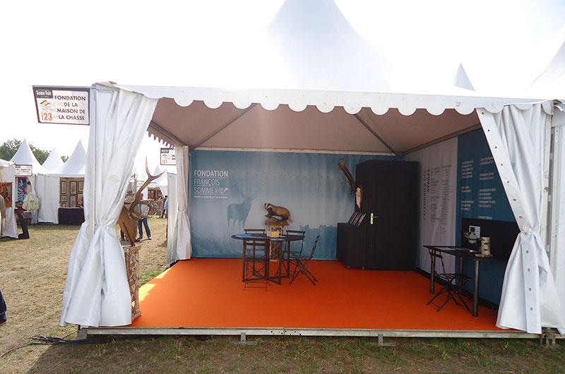 L'Ecole de chasse de Belval - Salons 2020